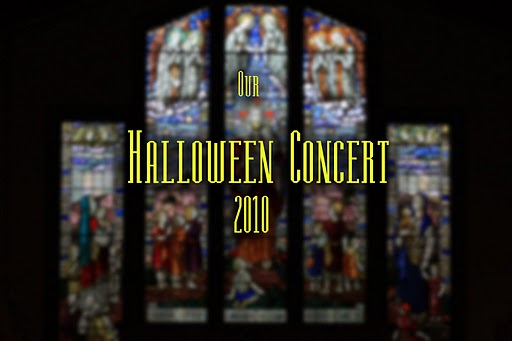 Spooks and Songs Hallowe'en Concert